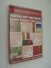 Painting Your Own Canvas: Beginners Guide - DVD (Reg.4) - NEW/SEALED - Freepost