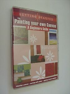 Painting Your Own Canvas: Beginners Guide - NEW/SEALED - DVD (Reg. 4) - Freepost
