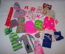 Mattel Vintage Francie / Mod Barbie Lot of Clothes, Shoes & Accessories