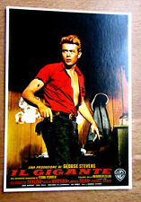 MODERN POSTCARD JAMES DEAN IL GIGANTE POSTER IMAGE PRISTINE CONDITION (GIANT)