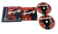 Driver 2 (Sony PlayStation 1 PS1) Black Label Complete W/ Manual Tested