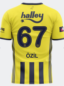 Fenerbahce Mesut Ozil 67 Adidas 2020/21 Home Match Jersey Official Licensed