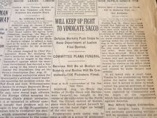 1927 AUGUST 24 NEW YORK TIMES - WILL KEEP UP FIGHT TO VINDICATE SACCO - NT 6366