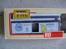 HO Scale Train Miniatures Commemorative Georgia Box Car Kit NIB 2025
