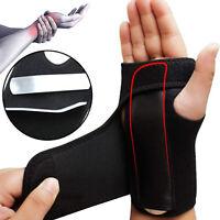 Wrist Hand Brace Support Carpal Tunnel For Splint Arthritis Sprain Stabilizer US