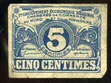 5 centimes   NORD et PAS DE CALAIS  1925   chambre de commerce
