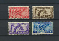 ITALY 1936 Italian Industries Mint NH Complete Set #355-358 Retail Value $18.00