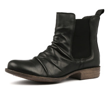 EOS Willo Black Leather Ankle Boots RRP$220 Willow Chelsea Boot Casual Shoes