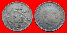 25 PESETAS FRANCO 1957-58 MBC ESPAÑA-26758
