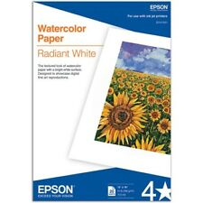 Epson Matte A3+ 13x19 Watercolor Photo Paper Radiant White - 20 sheets