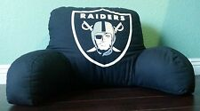 Licensed NFL Oakland Raiders Football XL Square Decorative Cushion Throw Pillow