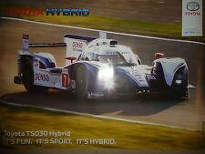 Poster Toyota Hybrid Denzo