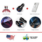 1M USB Charging Cable&Fast Car Charger&Clear Phone Case Cover For iPhone12 Mini