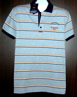 Paul&Shark Yachting AUTHENTIC Gray Stripes Men's Cotton Italy Polo  Size XL