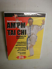 NEW David Carradine's AM PM TAI CHI DVD Workouts for Beginners Taichi Exercise