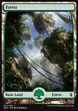 MTG FOREST #271 FOIL - FORESTA FULL ART 2 - BFZ - MAGIC