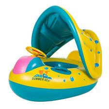 Inflatable Swimming Boat Float Raft Summer Sea Boat Toy For Baby Kids Children