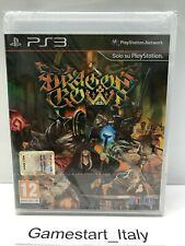 DRAGON'S CROWN - SONY PS3 - GIOCO NUOVO SIGILLATO PAL ITA - VERY RARE