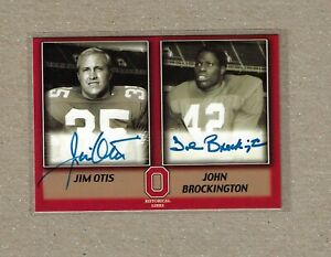 TK Legacy Ohio State Jim Otis John Brockington HL Auto