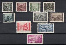 ISTRIA E LITORALE SLOVENO 1946 Serie Pittorica 2^ emissione 10 val.  MNH** LUSSO