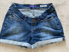 maternity denim shorts Size 12 Seraphine