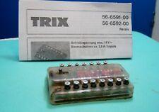 TRIX 56-6591-00 - Doppio Relais Elettromagnetico - Vintage +++++++++++++++++++++