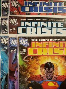Infinite Crisis #1-7 (7.0, FN/VF) * 7 Book Lot *