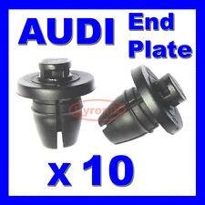 AUDI INNER WHEEL ARCH SPLASHGUARD WING END PLATE TRIM CLIPS A1 A4 A5 A6 A7 Q3 Q5