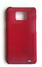 Red Mesh Hard Case Cover for SAMSUNG i9100 Galaxy S 2