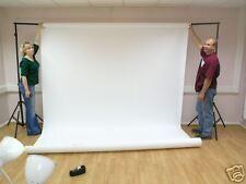 3.56m x 30.5m Ultra Wide senza soluzione di continuità Fotografia Sfondo carta-Arctic White