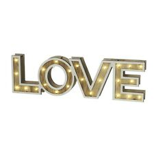 'LOVE' LED sign by Heaven Sends