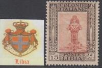 ITALY  LIBIA  n.48  MNH** super centered cv 70$