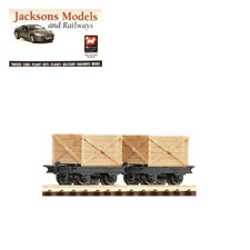 Roco 34603 Crate Wagons (Pack of 2) HOe Gauge