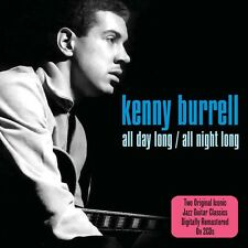 Kenny Burrell - All Day Long / All Night Long (2CD 2010) NEW/SEALED