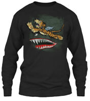Avg Flying Tigers Gildan Long Sleeve Tee T-Shirt