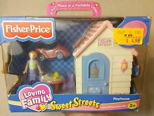 Fisher Price Sweet Streets Loving Family Playhouse 2003 House Play Set #74141