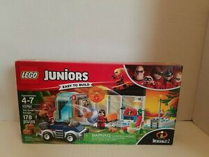 Lego Juniors Incredibles 2 The Great Home Escape #10761 NEW sealed in box