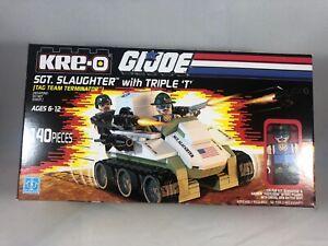 SGT Slaughter's Triple T Vehicle GI Joe Kre-O SDCC Exclusive Kreo New