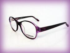 MORGAN Brillenfassung, Fassungfür Brillenträger,  NEU Violett transparent  (NOO)