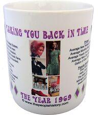 1969 Year In History Coffee Mug Includes Gift Box Born In 1969 Birthday Gift