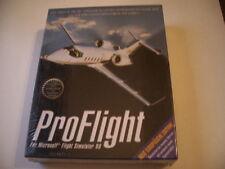 Pro Flight for Microsoft Flight Simulator 98 (PC) eurobox cartón box nuevo New