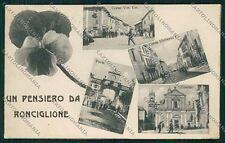 Viterbo Ronciglione cartolina QK4397
