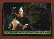 1999 Topps Star Wars Chrome Archives #68 Jabba The Hutt's New Dancing Girl >Leia