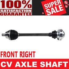FRONT RIGHT CV Axle Shaft For AUDI TT QUATTRO 01-06