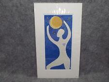 """ BELLA LUNA "" Limited Edition Original Print 8/300 By Dar Hosta Matted"