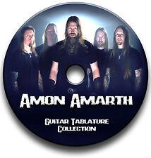 AMON AMARTH DEATH METAL ROCK GUITAR TAB TABLATURE SONG BOOK SOFTWARE CD