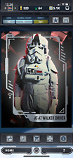 Star Wars Card Trader Imperial Forces Might of The Empire AT-AT Walker Driver