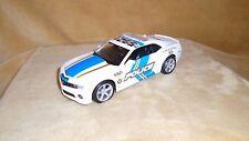 1/24 SCALE  DIE CAST  MAISTO 2010 CHEVY CAMARO SS RS POLICE CAR   WHITE/BLUE