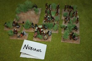 WELL PAINTED 25MM / 28MM NUBIANS CLASSIC ARMY DBA / DBM HISTORICAL