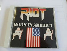RIOT - Born In America - CD TOP (Japan Version CBS/Sony CSCS 5025)